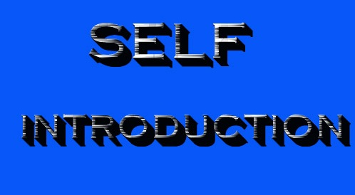 self introduction format