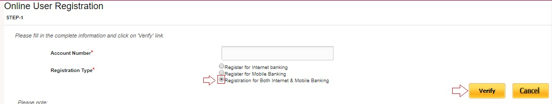 activate pnb net banking service