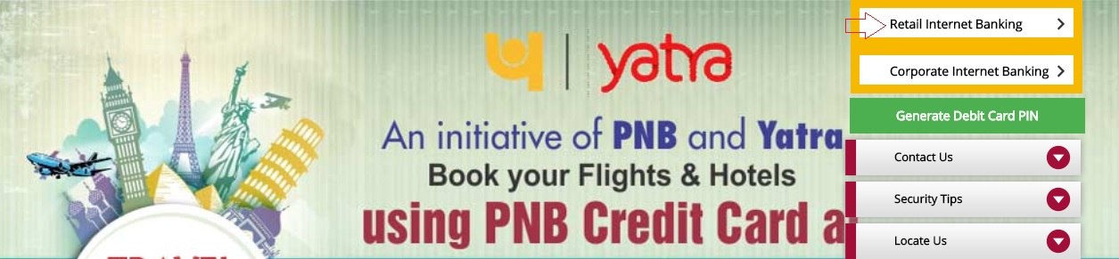 activate pnb net banking