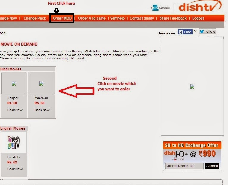 dish tv kitty balance