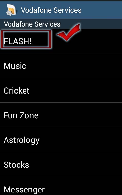 stop flash notifications