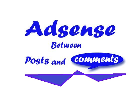 Adsense between posts and comments