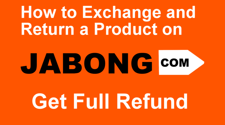 How to Exchange or Return a Product on Jabong app