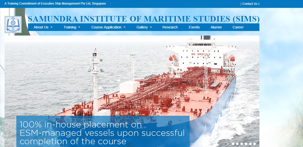 Samundra Institute of Maritime Studies(SIMS)