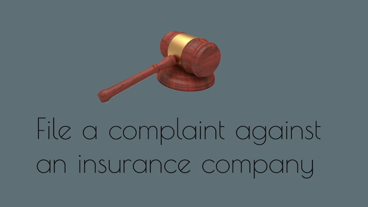 File Complaint against Insurance Company in India
